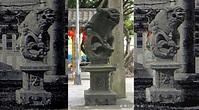 臺灣神社的三對石獅(上)@臺灣石獅地圖|PChome 個人新聞台