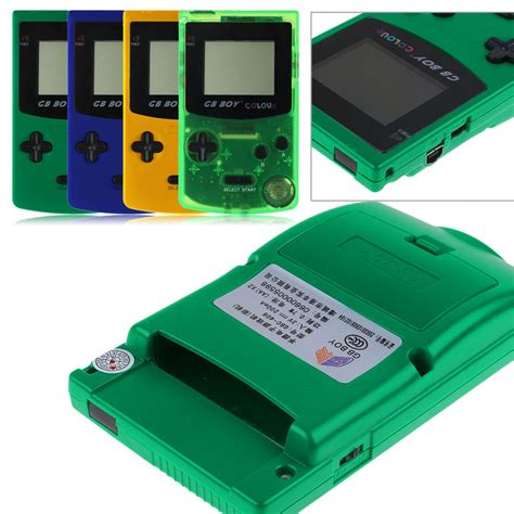 backlit gameboy color classic gb boy colour handheld console for gameboy color