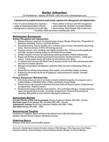 assistant property manager resume objective assistant