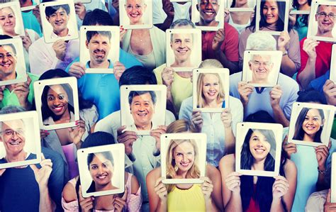 diversity casual people communication technology concept