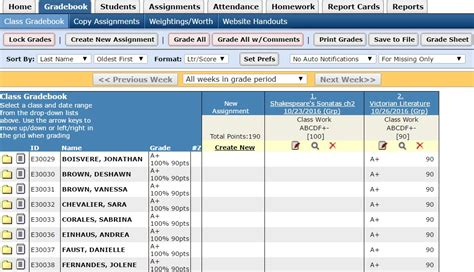 Top 10 Online Gradebooks For Teachers 3 Free And 7 Paid