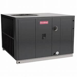 Goodman 2 Ton 14 Seer 70k Btu Heat Pump  U0026 Gas Package Unit