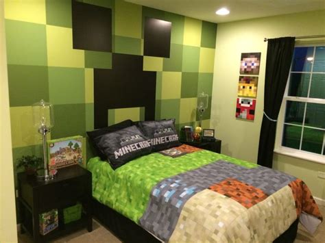 Minecraft Bedroom Wallpaper