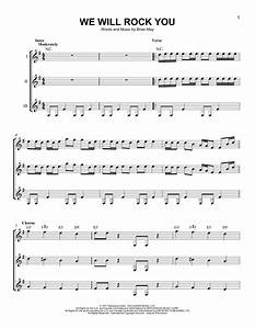 We Will Rock You sheet music by Queen (Guitar Ensemble ...