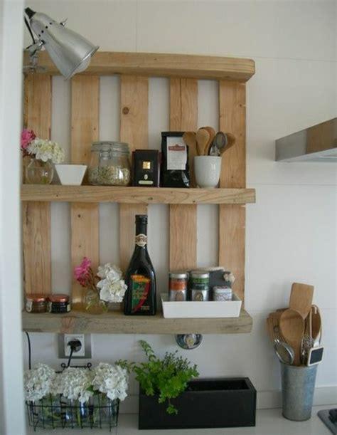 idee etagere cuisine palettes en bois idées de bricolage de meubles