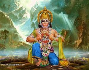 wallpaper of hanuman god