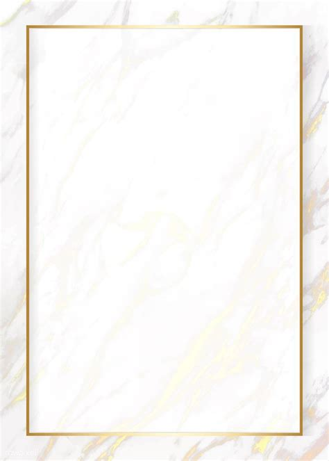 premium vector  blank marble texture card
