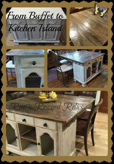 20+ Decorative Kitchen Island Ideas Repurposed