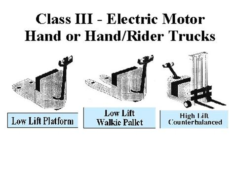 Electric Motor Class by Class Iii Electric Motor Or Rider Trucks