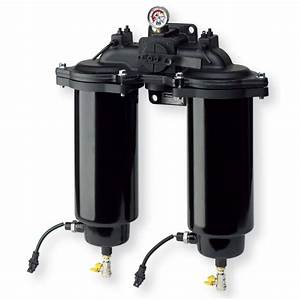 Low Pressure In-line Duplex Fuel Filter