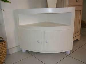 Meuble D Angle : meuble d angle blanc 1 photo de mobilier katoukarton ~ Teatrodelosmanantiales.com Idées de Décoration