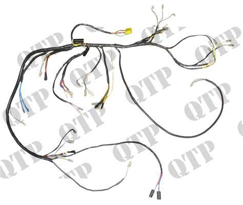 wiring loom david brown 770 780 selectamatic