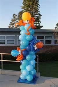 Octopus Under the Sea Balloon Decoration