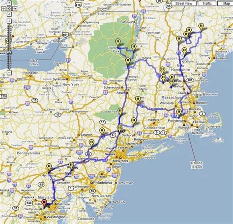 east coast road trip stops new england road trip map suggested routes repinned by claudinebhatti maps pinterest