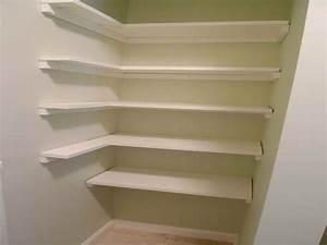 pantry shelving plans design ideas corner white pantry With benefits of adding small corner shelf
