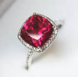 ruby wedding band ruby halo ring engagement ring or right ring