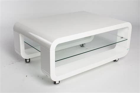 table basse bois et laque blanc table basse laque blanc et verre ezooq