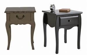 Tables De Chevet Pas Cher : table nuit pas cher table chevet taupe sortir en allier ~ Voncanada.com Idées de Décoration