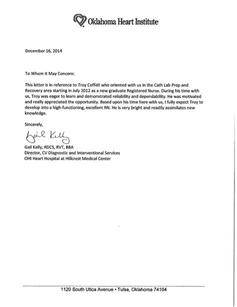 gail kelly general reference letter