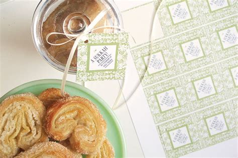 homemade palmiers party inspiration
