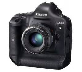 Canon XF Notebook: Canon EOS-1D X announced