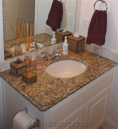 Yellow Bathroom Vanity Tops by G682 Yellow Granite Bathroom Vanity Tops Bath Tops Yellow