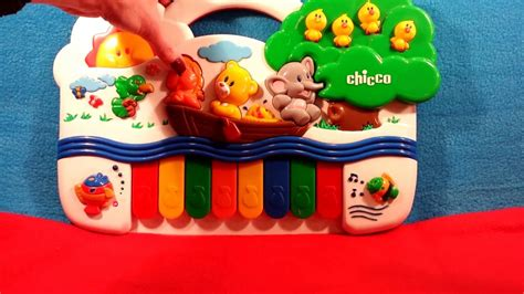 Row Your Boat Toys by Chicco Musical Piano Row Row Row Your Boat