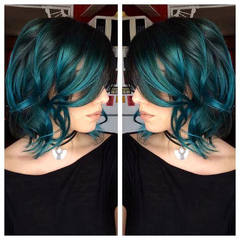 Pravana Green And Blue Combo Hair Pinterest Hair