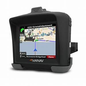 ViaNav Motorcycle Sat Nav GPS Navigation System for ...