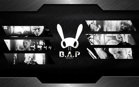 B.a.p Metal Wallpaper By Printh8rru