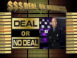 template deal or no deal powerpoint game With deal or no deal template powerpoint free