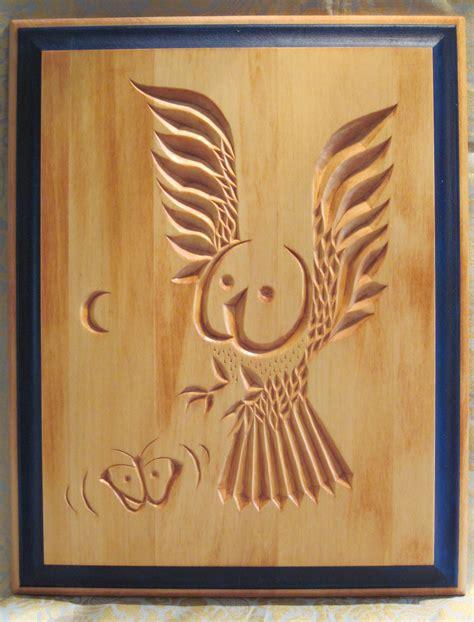 wood carving patterns owls wood plan
