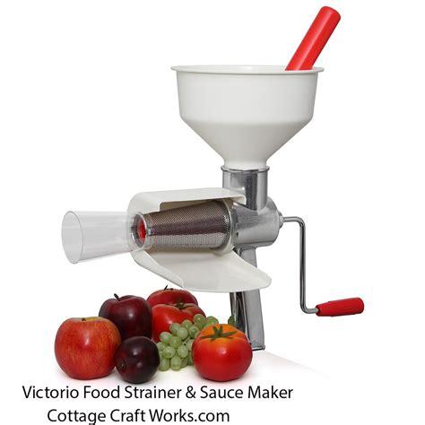 tomato strainer food canning victorio juicer sauce hand maker crank catalog