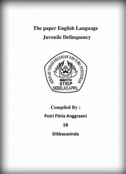 Makalah Contoh Inggris Bahasa Dalam Tugas Yang