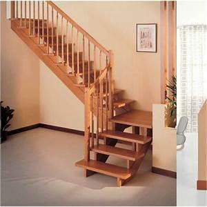 Escalier Quart Tournant Bois Obasinc