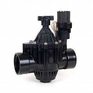 150pga  2 In  Inlet Inline Plastic Residential  Commercial Irrigation Valve