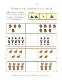 printable thanksgiving worksheets  kids  images