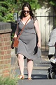 Natalie Cassidy steps out for the first time since giving ...
