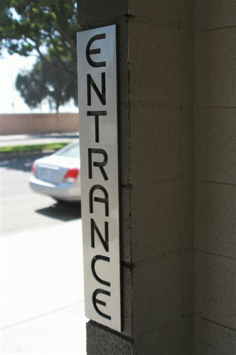 aluminum letters outdoor business sign long beach ca