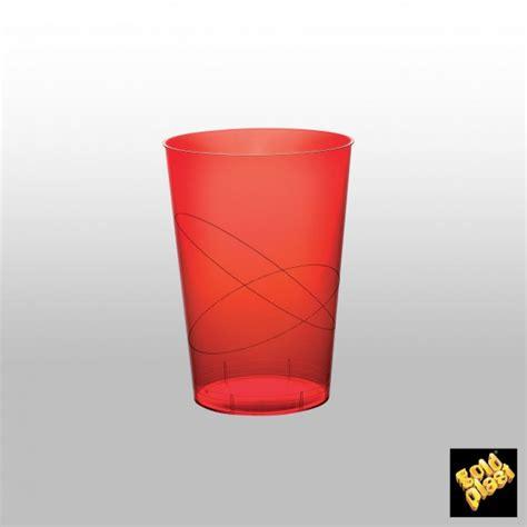 Bicchieri Di Plastica Trasparenti by Bicchiere Rosso Trasparente Pelatelli