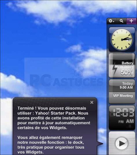pc astuces personnaliser le bureau de windows avec des widgets