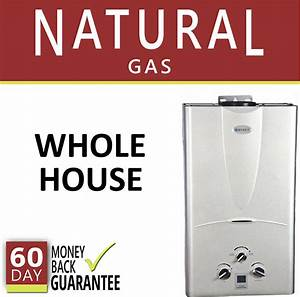 Tankless Hot Water Heater 3 1 Gpm Marey Natural Gas Digital 3 Bath Whole House