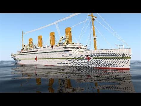 the sinking of the britannic minecraft shedding light on the sunken hmhs britannic worldnews