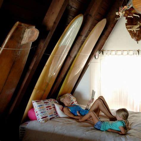 Surf Bedroom Decor by Attic A La Vintage Surf Board Decor Av Interiors