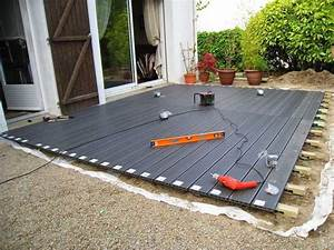 Lame Composite Pour Terrasse : comment poser une terrasse composite sur lambourdes et plots ~ Melissatoandfro.com Idées de Décoration
