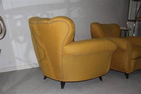 Designer Armchairs Pair Of 1940 Comfortable And Very