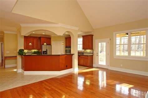kitchen and great room designs wheelchair accessible multigenerational house plan 7675