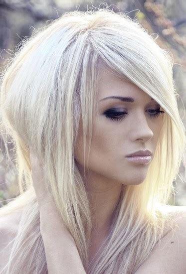 platinum blonde hsir long hair styles