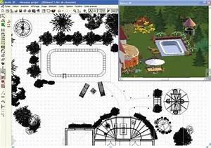 logiciel gratuit plan jardin 3d pour pc tablette et With plan amenagement jardin gratuit