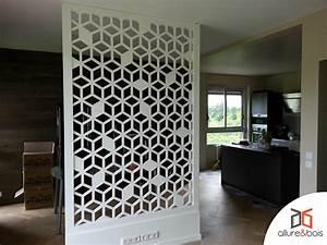 Separateur De Piece Bois : claustra polaris en 2019 moucharabieh claustra ~ Farleysfitness.com Idées de Décoration